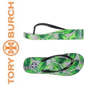 Tory Burch Shoes - Tory Burch Thandie Wedge Flip Flop