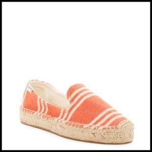 Soludos Shoes - Soludos Striped Platform Smoking Slipper!