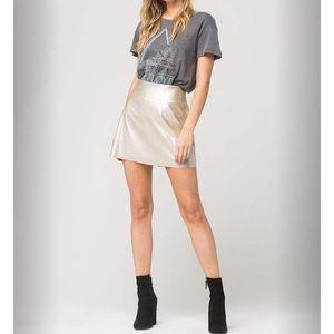 Dresses & Skirts - Metallic skirt