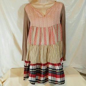 12 Pm By Mon Ami Dresses & Skirts - 12pm Mon Ami dress size M/L multicolor above knee