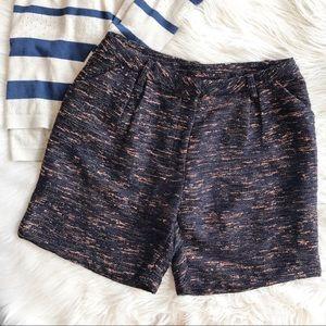 Greylin Pants - NWT Greylin High Waisted Tweed Shorts (D)