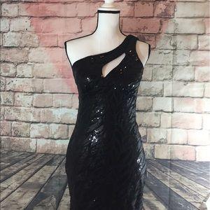 Jodi Kristopher Dresses & Skirts - Jodi kristopher black bodycon dress size 5
