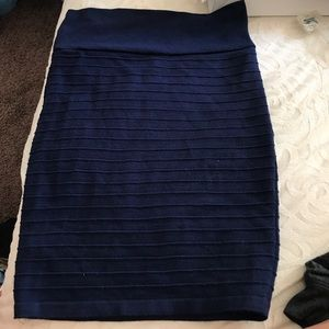 Dresses & Skirts - Dark blue pencil skirt