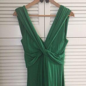 T-Bags Dresses & Skirts - T-bags Emerald Green Sleeveless Maxi Dress