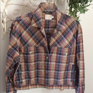 women's short waisted jacket