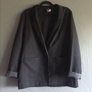 Black Blazer. Size XL