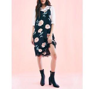 Floral Slip Lacey Dress
