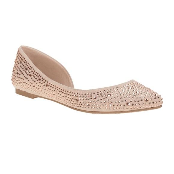 blush ballet shine casual dress shoe from