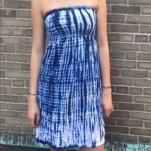 Cool Change Dresses & Skirts - Indigo Tie-Dye Dress - Cool Change