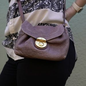 MBMJ lavender cross body bag