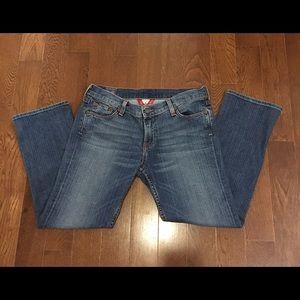 Lucky Brand Denim - Lucky Brand Sundown Straight Cropped Jeans -8/29