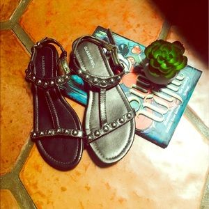 classified Shoes - Bronze Sandals