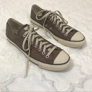 Converse brown low top classic all star