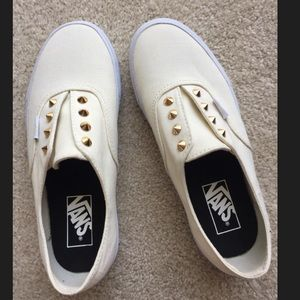 Vans Shoes - Vans Gold Stud Slip On