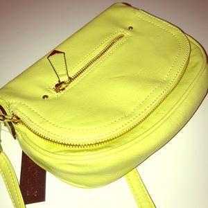 Apt.9 Handbags - Chartreuse Crossbody Bag