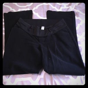 Old Navy Pants - Maternity - old navy half panel pants