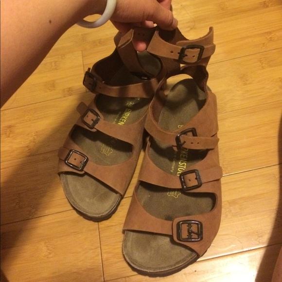 Birkenstock Shoes Athens Gladiator Sandals Poshmark