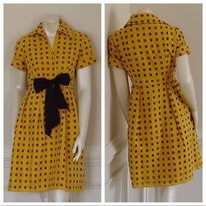 Diane Von Furstenberg Dresses & Skirts - Diane Von Furstenberg Collared Flare Dress
