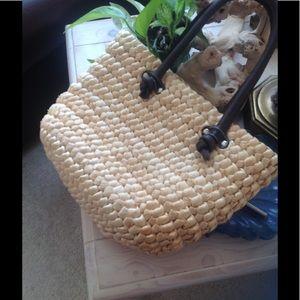 Bass Handbags - Bass straw bag