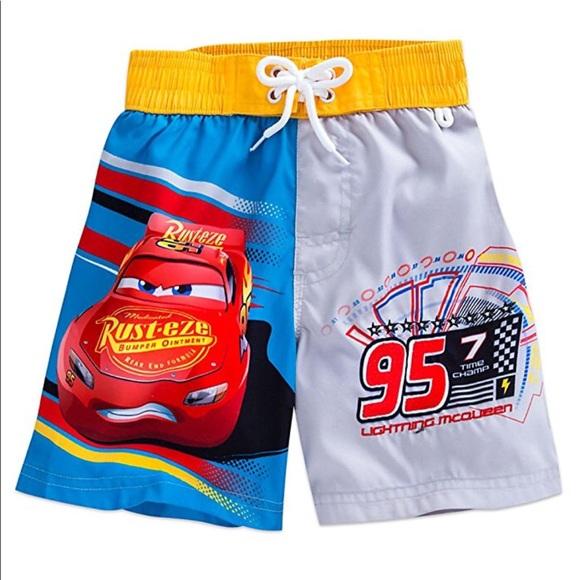 bf89a58ed1 Disney Swim | Nwt Store Cars Lightning Mcqueen Trunk | Poshmark
