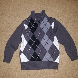Children's Place Other - Children's Place Boy Charcoal Gray Black Sweater