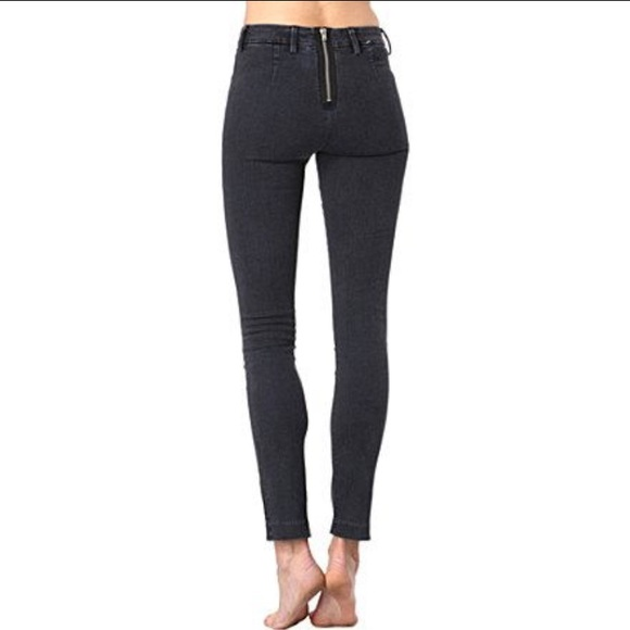 827aecfee56f Acne Jeans   Studios Skin Rocca Black Faded 23   Poshmark