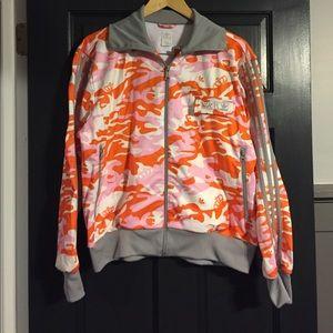 ADIDAS camo track jacket