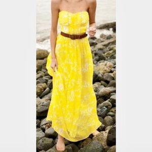 J. Crew Dresses & Skirts - J. Crew Printed Silk Chiffon Whitney Long Dress