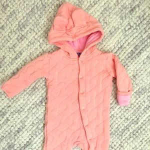 Kickee Pants Other - Quilted Hoodie Coverall