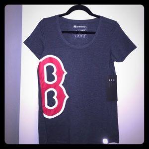 47 Tops - Boston Red Sox Active Scoop Tee