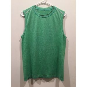 lululemon athletica Other - ☀️EUC Lululemon Men's Green Sleeveless Top