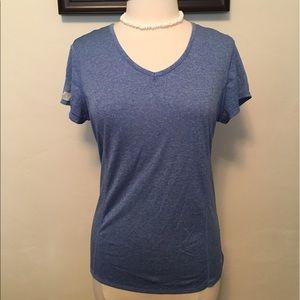 Tops - New BLUE-Grey Rainbeau Semi-Fitted Sports Shirt