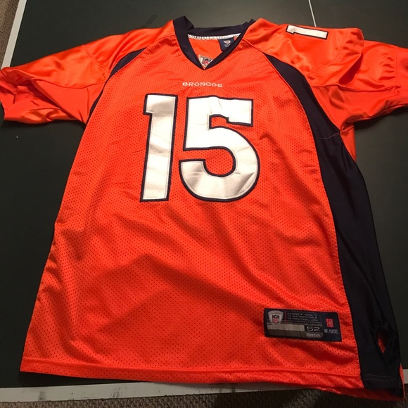 save off d28c1 ed6ee Authentic on field Tim Tebow Denver Broncos jersey