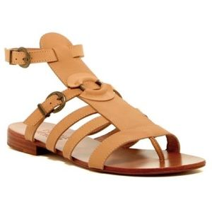 Australia Luxe Collective Shoes - NEW Australia Luxe Palm Tan Gladiator Sandals