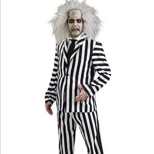 Costume National Other - BRAND NEW! Beetlejuice costume with wig