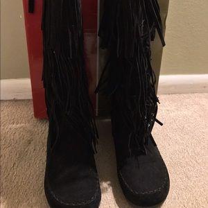 Pierre Dumas Fringe boots