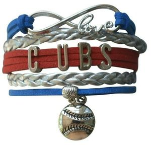 Jewelry - Chicago Cubs Bracelet, Chicago Cubs Jewelry