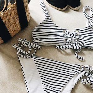 LOWEST!! Mara Hoffman Lace Up Bikini