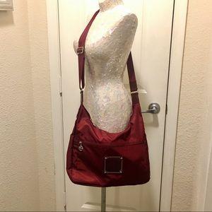 Longchamp Handbags - ❗️Rare❗️LONGCHAMP Nylon&Leather Crossbody Maroon