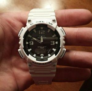 Casio Other - A white Casio watch and A midnight black Casio