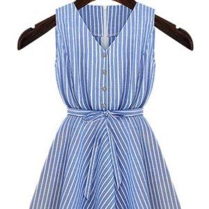 Dresses & Skirts - Chambray Striped Dress