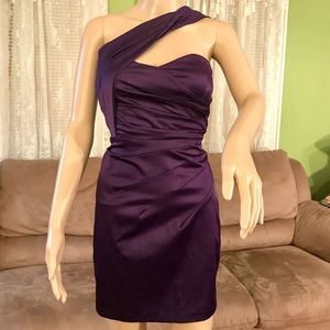 Mystic Dresses & Skirts - Mystic Dress Purple, one shoulder cocktail dress
