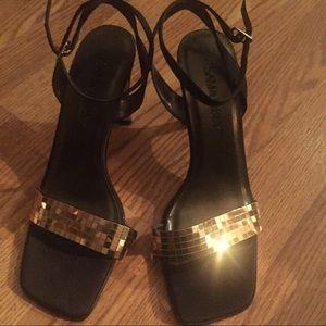 Sam & Libby Shoes - Gold Disco