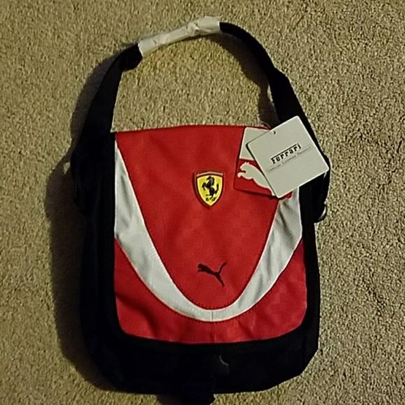 6cbcb442acc Puma Bags   Mens Ferrari Shoulder Bag   Poshmark