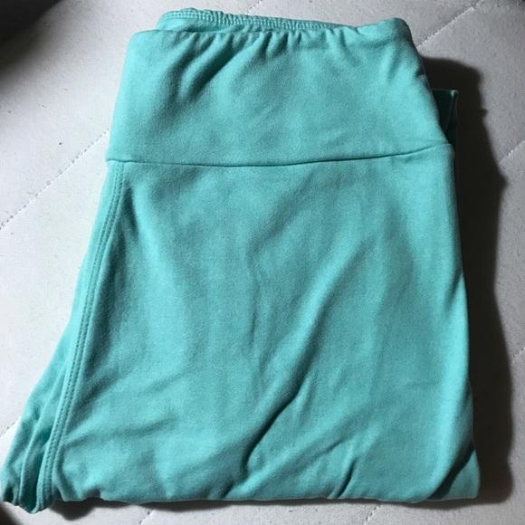 17% off LuLaRoe Pants - Leggings Lularoe Mint Tiffany Blue Solid NEW OS from Virginiau0026#39;s closet ...