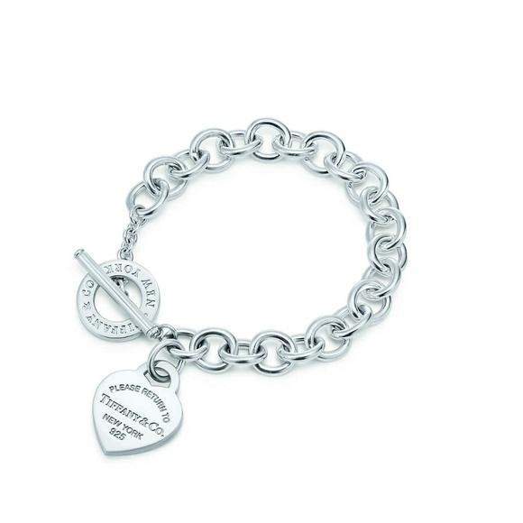 Tiffany Amp Co Jewelry Used Tiffany Co Heart Toggle