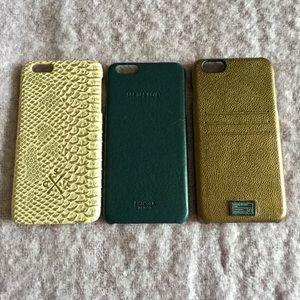Shinola Accessories - 📌3 NEW Brand Name Iphone6 Plus Cases