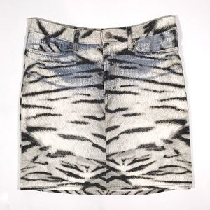 Roberto Cavalli Dresses & Skirts - Just Cavalli Animal Print Pencil Skirt
