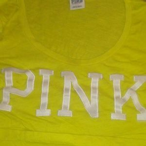 PINK victoria's Secret scoop neck ?Authentic?