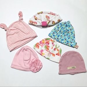 Zutano Other - Bundle of Baby Girls Hats Boutique Brands!